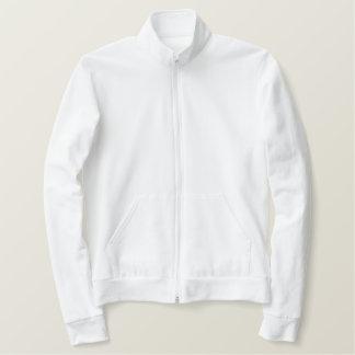 Jaqueta americana bordada do roupa das mulheres