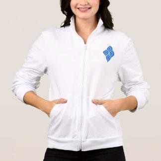 Jaqueta americana do roupa das mulheres com design