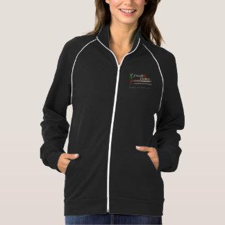 Jaqueta americana do velo do algodão do roupa das