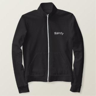 Jaqueta bordada customizável lindo