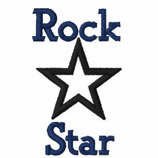 Jaqueta bordada estrela do rock
