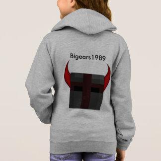 Jaqueta das meninas da equipe Bigears1989