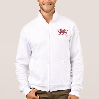 Jaqueta de Adidas do dragão de Galês