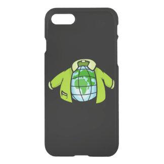 Jaqueta do globo capa iPhone 8/7