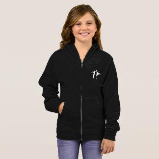 Jaqueta do Hoodie das meninas de AFB