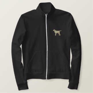 Jaqueta Esportiva Bordada Labrador amarelo