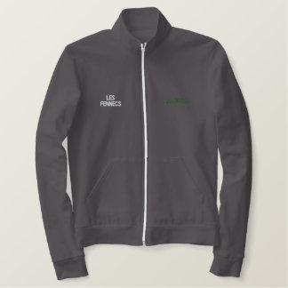 Jaqueta Esportiva Bordada Parte superior bordada Argélia do esporte de Les