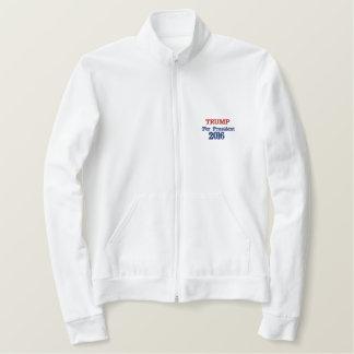 Jaqueta Esportiva Bordada TRUNFO para a camisa do branco do presidente 2016
