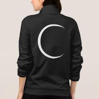 Jaqueta Estampada Lua crescente branca