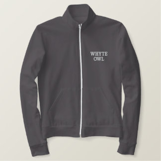 Jaqueta vermelha da trilha da coruja de Whyte