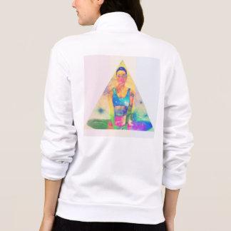 Jaquetas Camisola da pirâmide da ioga