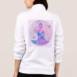 Jaquetas Ioga obtida sua camisola traseira