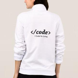 Jaquetas Para Estampar Eu codifico vivendo