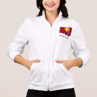 Jaquetas Para Estampar Mulher budista, postura da ioga