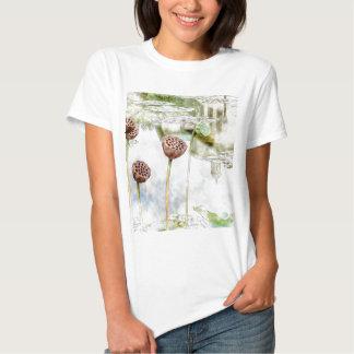 Jardim botânico de Brooklyn da reflexão da T-shirts