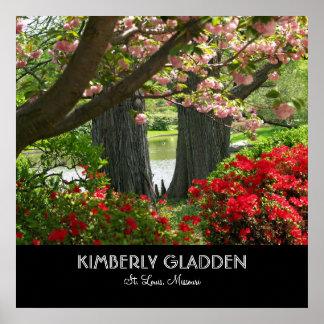 Jardim botânico de Missouri Poster