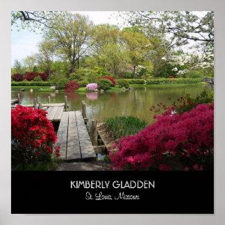 Jardim botânico de Missouri Pôsteres