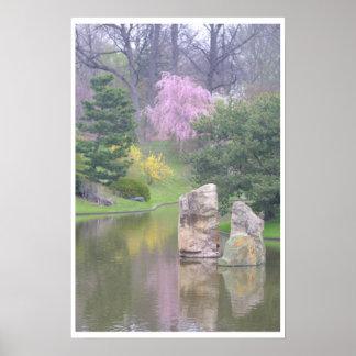 Jardim botânico de St Louis Pôsteres