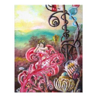JARDIM DE MELISSA vermelho brilhante cor-de-rosa Convite