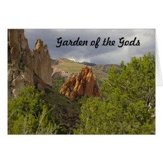Jardim do cartão dos deuses