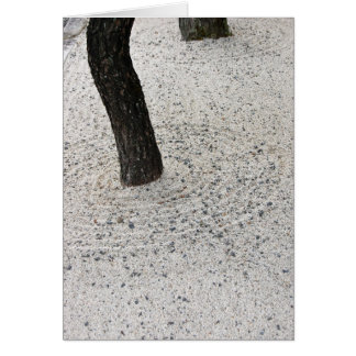 Jardim seco cartão
