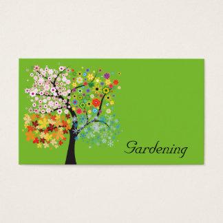 Jardinagem Cartão De Visitas