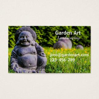 Jardinagem freelance ajardinando da arte do jardim cartão de visitas