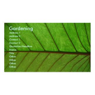 Jardineiro Cartão De Visita