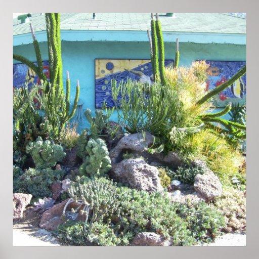 Jardins botânicos 2 das codorniz impressão