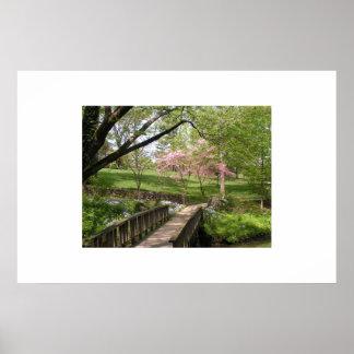 Jardins botânicos de Cheekwood Pôster