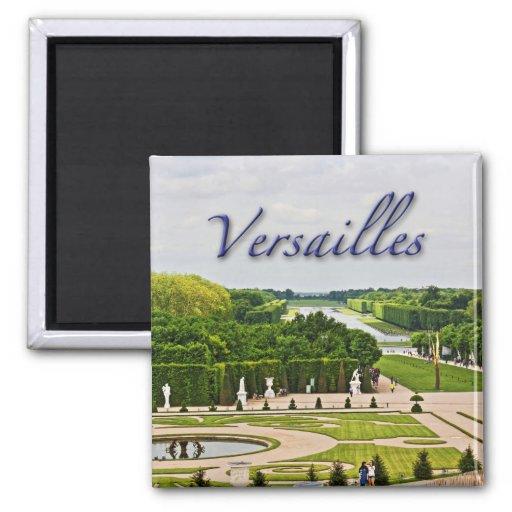Jardins do palácio de Versalhes Ímã Quadrado