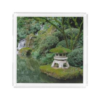 Jardins japoneses calmos