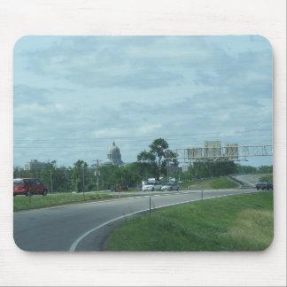 Jefferson city, Mo. Área de construção do Capitóli Mousepad
