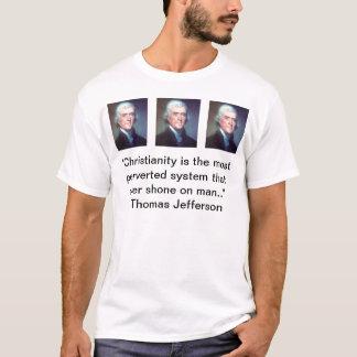 Jefferson na cristandade camisetas