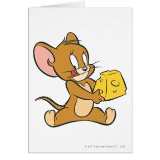 Jerry gosta de seu queijo cartão comemorativo