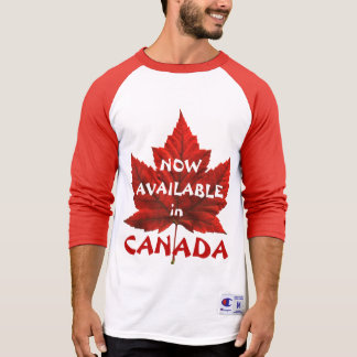 Jérsei de basebol engraçado da lembrança de Canadá T-shirt