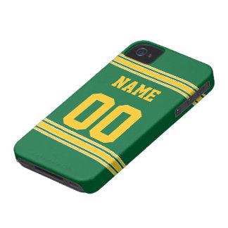 Jérsei do futebol com a área a personalizar capa para iPhone