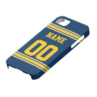Jérsei do futebol com a área a personalizar capas para iPhone 5