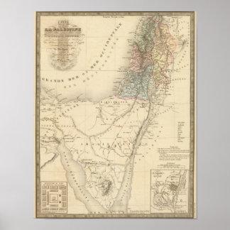 Jerusalem histórico, Palestina Poster