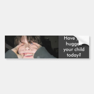 jesse, você abraçou sua criança hoje? adesivo para carro