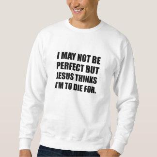 Jesus a morrer para moletom