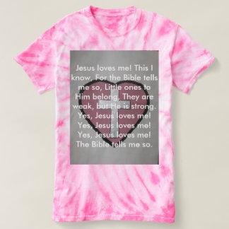 Jesus ama-me! camiseta