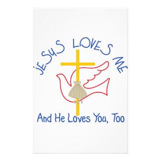 Jesus ama-me papelaria