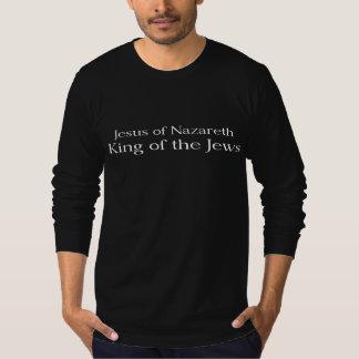 Jesus do rei de Nazareth dos judeus Camisetas