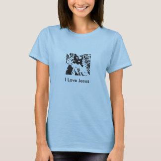 jesus, eu amo Jesus T-shirts