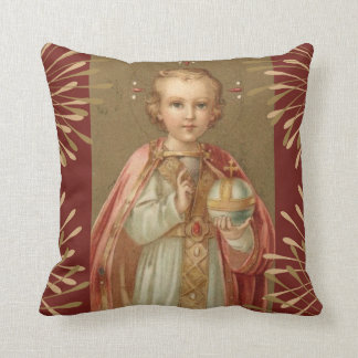 Jesus infantil de Praga Almofada