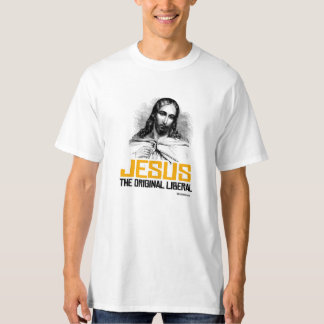 Jesus - liberal original camiseta