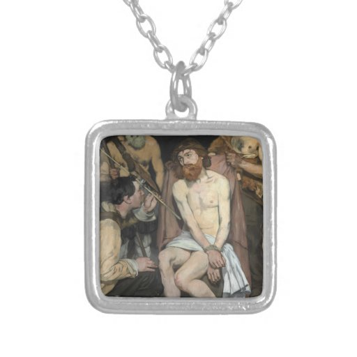 Jesus zombou pelos soldados por Edouard Manet Bijuterias