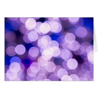 Jewel a faísca para trazer no humor festivo cartão comemorativo