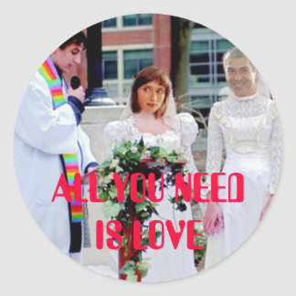 JF All You Need Is Love Adesivo